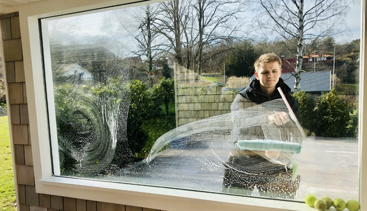 fönsterputsning berättigar dig till rutavdrag